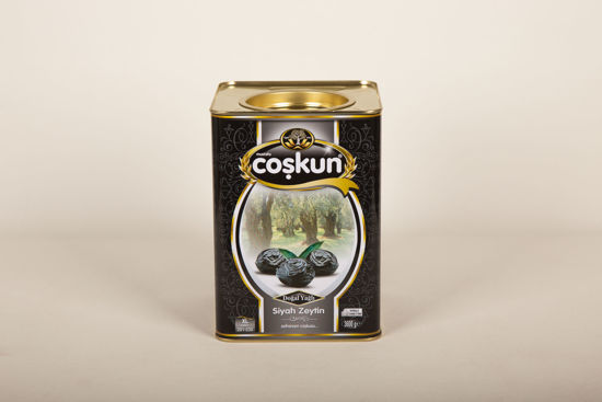 Siyah Zeytin Yağlı Sele 3.6 kg Teneke Yağlı Sele XL resmi
